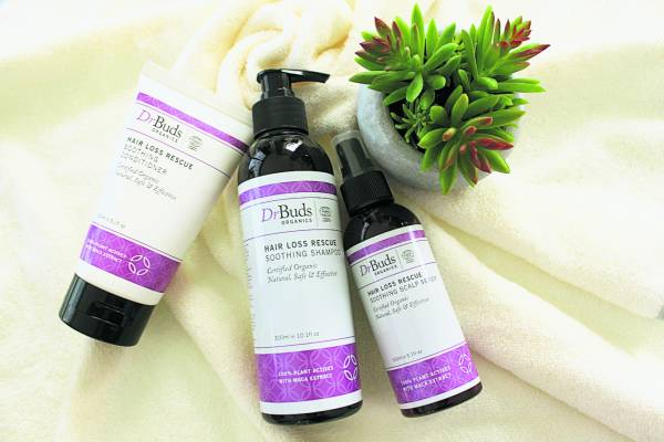Dr. Buds Organics_Hair Loss Rescue_Lifestyle Image