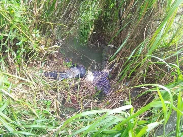 老翁被发现呈趴伏状,浮尸大沟渠。