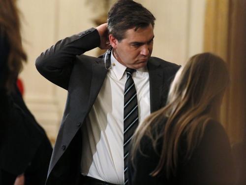 美国有线新闻网络(CNN)白宫记者阿科斯达。(路透社)