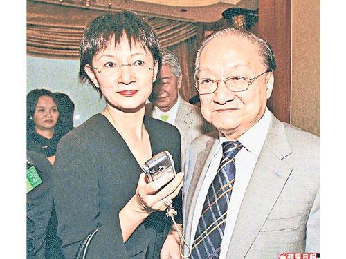 金庸与林乐怡1976年结婚。(互联网)
