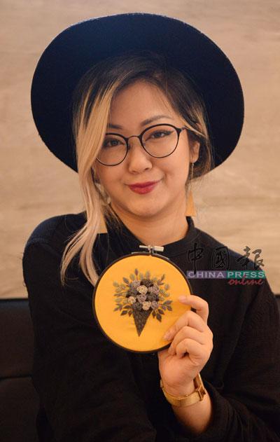 ■刺绣导师戴安莉(Anni)