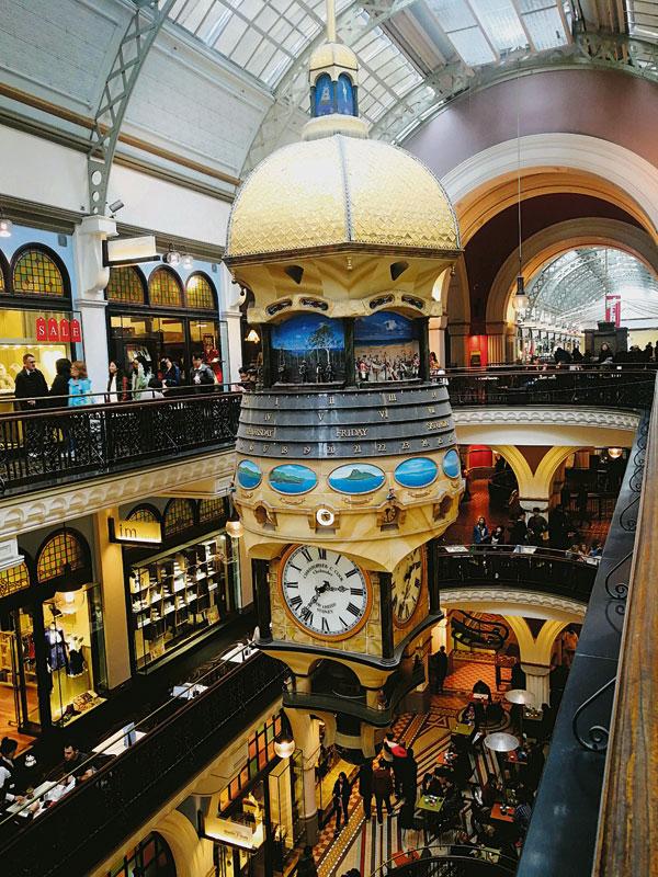 维多利亚女王大厦(Queen Victoria Building),简称QVB,是视觉盛宴,必须去看一看。