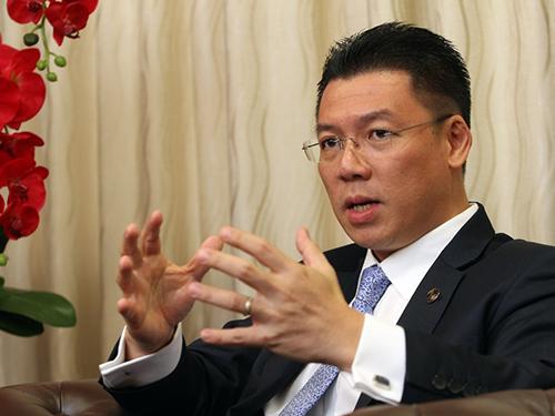 霹雳行动党主席倪可敏