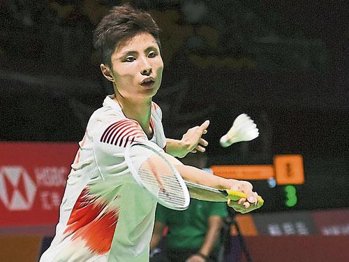 赛会第2种子石宇奇,率先打入中国公开赛复赛。(新华社)