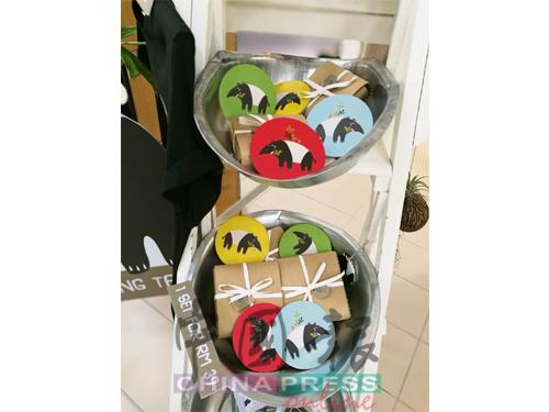 可爱风格的马来貘文创产品,为推广马来貘保育意识尽一分力。