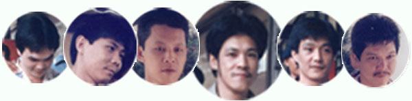 6名挟持人质的华裔囚犯。