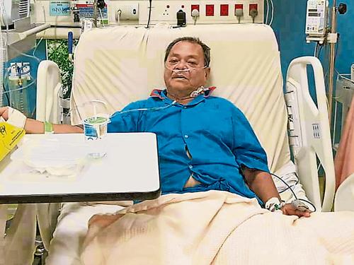 梁德佑在短短3个月内被送院急救4次,至今仍在马大医院治疗。
