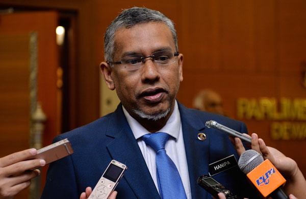 首相署副部长哈尼峇指出,政府决定不废除2016年国家安全理事会法令。