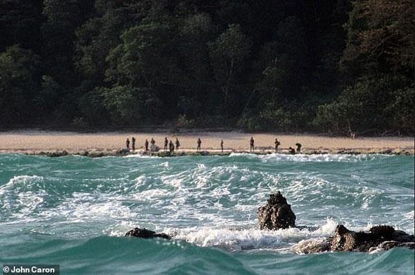 北森蒂纳尔的海滩。(档案照)