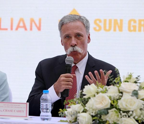 切斯加里宣布越南F1在河内举行。(美联社)