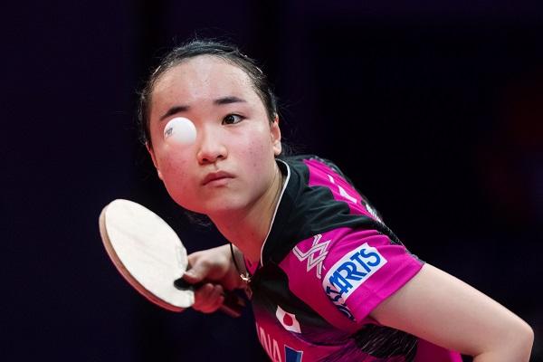 伊藤美诚是中国女乒的心腹大患。(路透社)