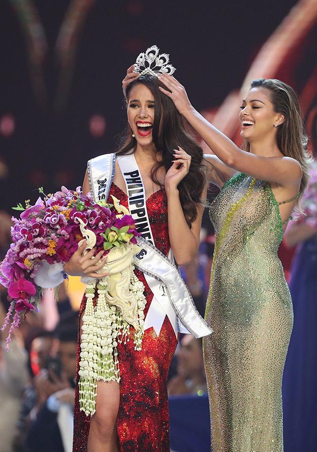 2018年第67届环球小姐结果出炉,菲律宾佳丽卡托丽娜夺下美后。