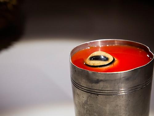 羊眼球番茄汁