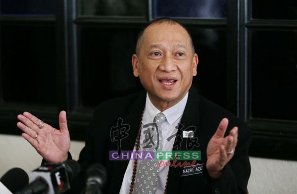 纳兹里透露,曾与安华会面,并要求一旦安华出任首相,必须答应4件事。(档案照)