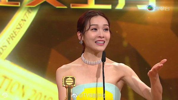 李佳芯透露家人也在场见证她拿下最佳女主角奖。
