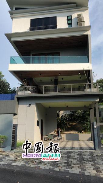 赌博集团租下沙登怡观园一个超级豪宅充当大本营。
