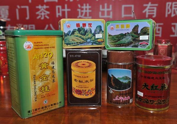 """厦门海堤牌多款火功高的茶叶名品,被视为""""侨销茶""""的经典代表作。"""