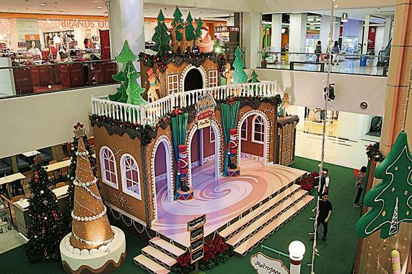 如此童话的圣诞装饰,是个拍照打卡的圣地哦!
