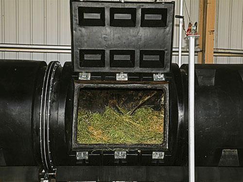 让堆肥成形的容器。