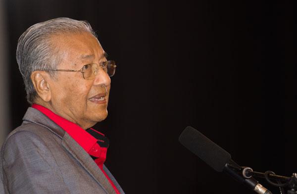 马哈迪希望能尽快选出新任国家元首,因他有特定事务需觐见元首。