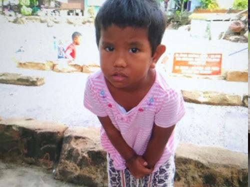 小死者努鲁哈宁(4岁)。