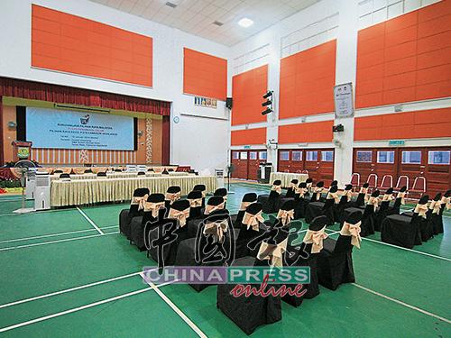 提名中心内部已准备就绪,只待提名日的到来。