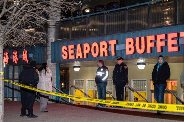 餐厅鲜血四溅案后暂关门。