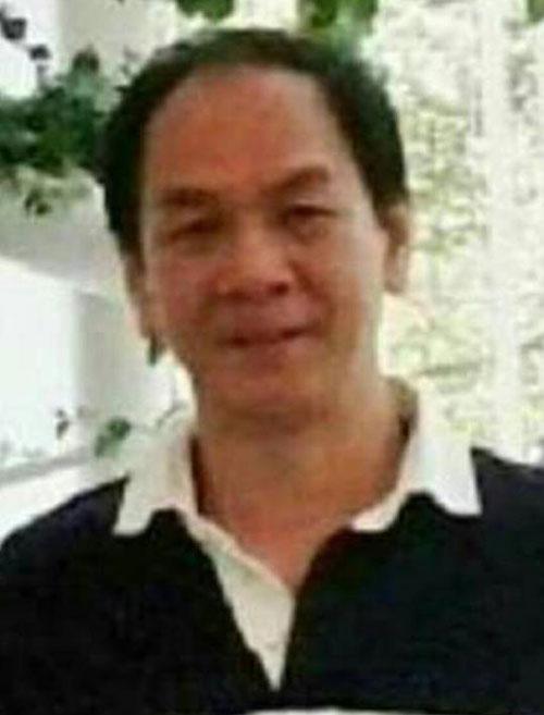图为已被宣布脑死、毫无生命迹像的吴泰强。