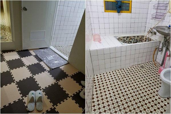 该网友年迈的父母整理了2个多礼拜,房子才恢复原有的干净模样。