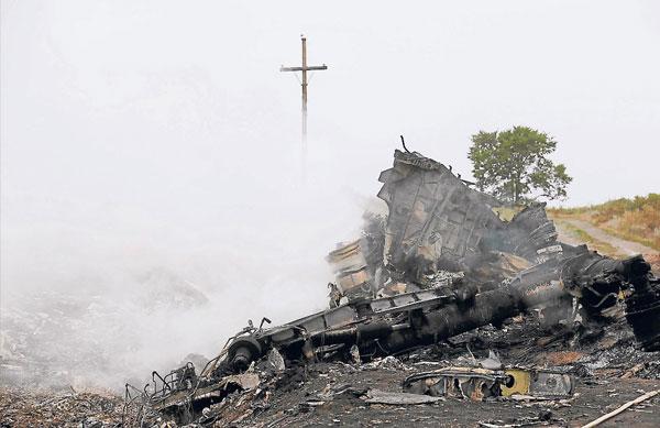 灾场尸骸遍野,且飞机残骸散落一地,让人触目惊心。