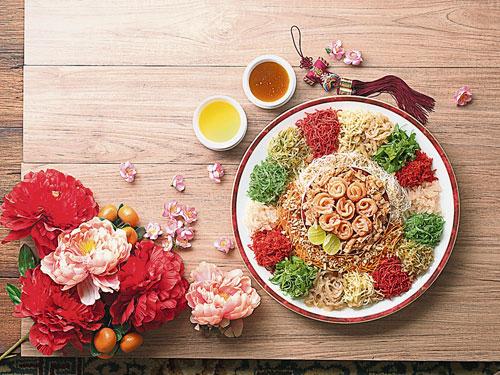 帝盛君豪及丝丽酒店将在这个农历新年为推出一系列的鱼生及年菜选择。