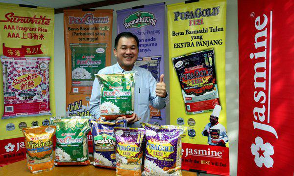 Jasmine食品机构总执行长林瑞桔:Jasmine一系列的健康好米,是佳节家庭聚餐和关怀家人健 康的首选。