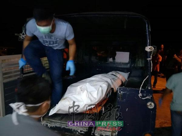 死者刘必坤的遗体,被安排送往医院太平间。