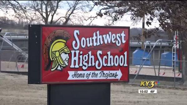 西南高中。