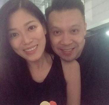 从交往到结婚至今18年,陈中原对她不离不弃。(翻摄自IG)