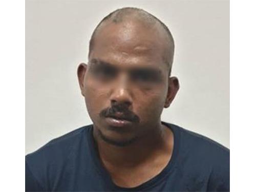 落网嫌犯被延扣7天,协助警方调查。