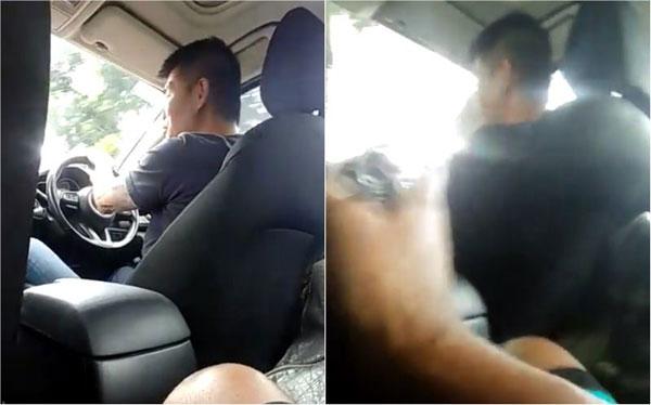 手臂上有文身,开着马赛地的老实司机怒飙脏话怼乘客。