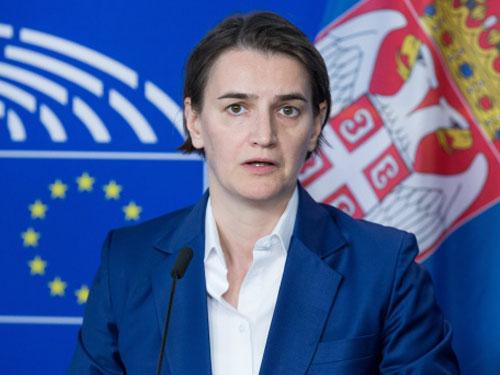 塞尔维亚女总理布纳比奇。