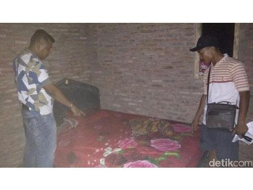 少女的睡房,也是3父子对少女做出人神共愤的行为。