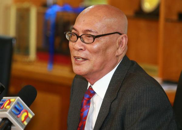 吉隆坡市长拿督诺希山。