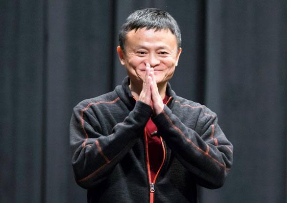 华人首富马云在榜中名列22。