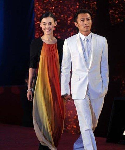 张柏芝和谢霆锋离婚多年。