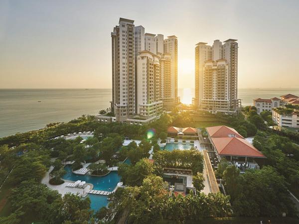 18 East,Andaman at Quayside让住户在梦寐以求的完美家园里, 每天享受温暖晨光或无敌海景。