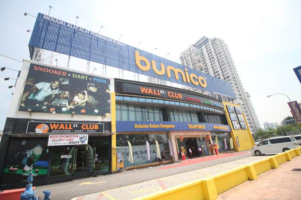 博美库建材城一旦投入营运,将打开大马建材商城一站式销售大门。