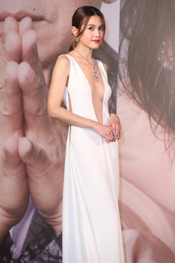 周秀娜为当晚最性感女星。
