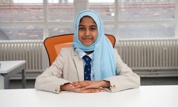 11岁的莎琪拉担任英国慈善组织Penny Appeal执行长,致力改变世界。