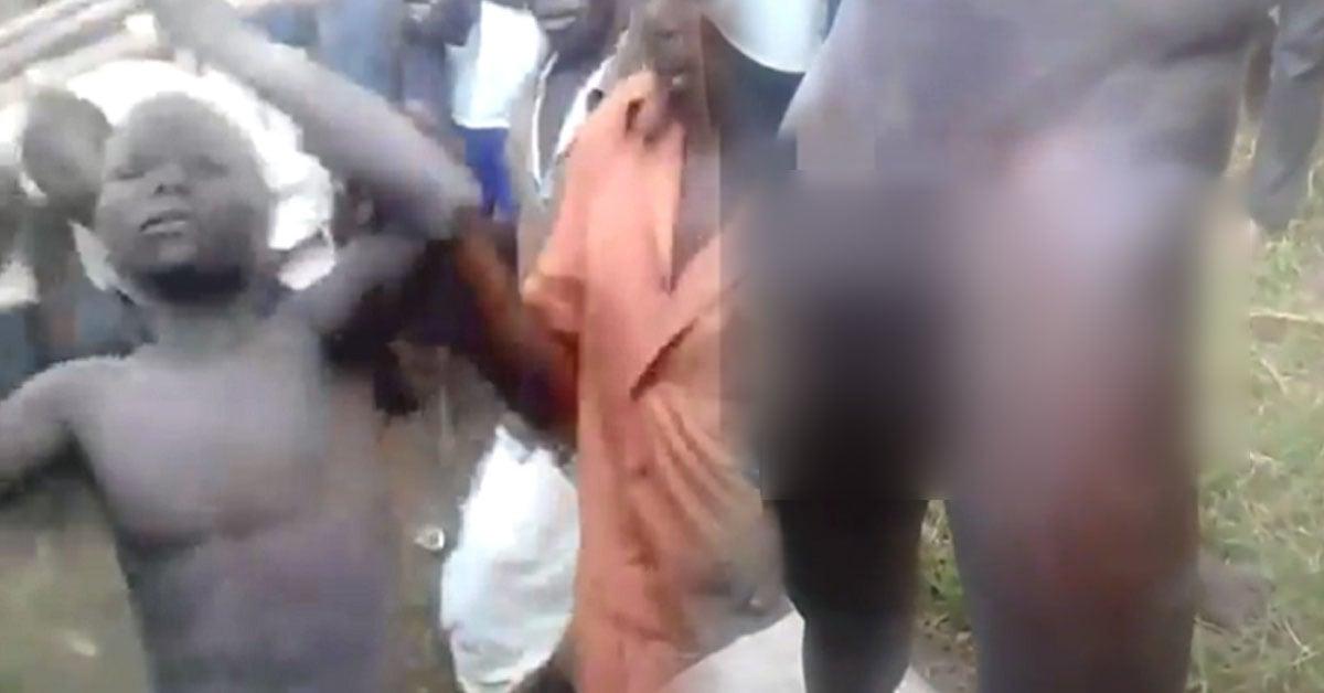 非洲部落割包皮不麻醉,這才是真男人!