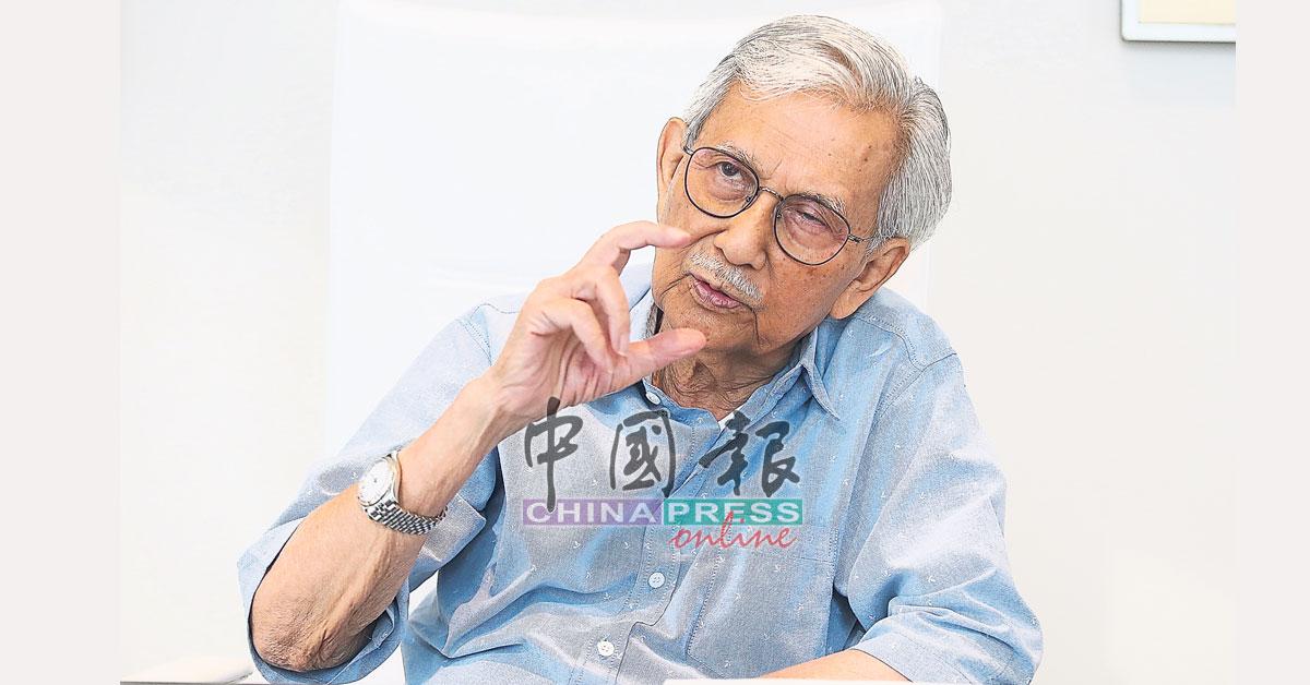 达因接受《中国报》专访时,分析东铁计划合共可让政府省下高达375亿令吉。