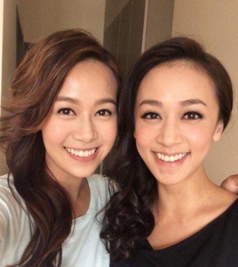 黄心颖和姐姐黄心美(右)被爆同为小三!