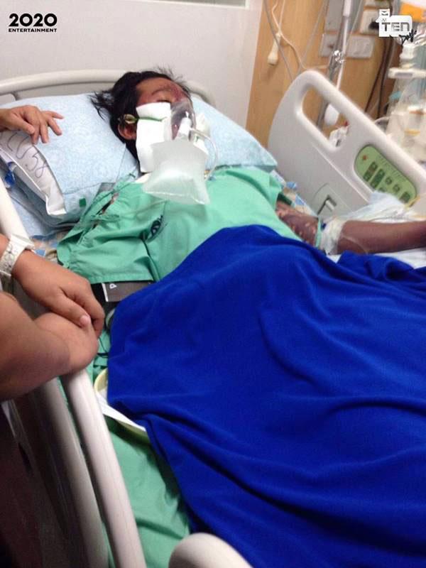 诺帕拉在医院接受治疗。
